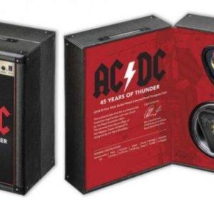 ACDC estuche moneda 45 aniversario