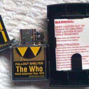 Zippo original The Who